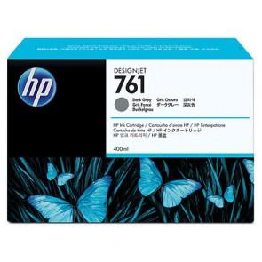 Консуматив HP 761 400-ml Dark Gray Designjet Ink Cartridge за плотер