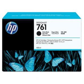 Консуматив HP 761 400-ml Matte Black Designjet Ink Cartridge за плотер