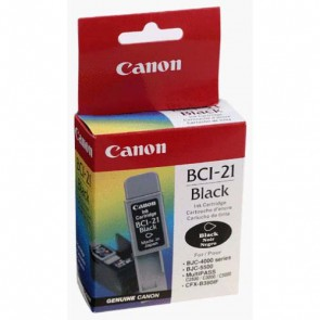 Консуматив Canon BCI-21 Black Inkjet Cartridge за мастиленоструен принтер