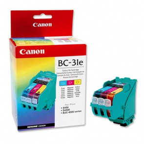 Консуматив Canon BC-31E Original Genuine Color Inkjet Cartridge за Мастиленоструйни Принтери