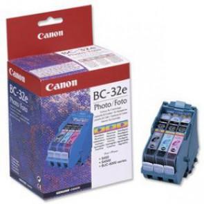 Консуматив CCanon BC-32E Photo Original Genuine Color Inkjet Cartridge Printhead за Мастиленоструйни Принтери