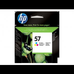 Консуматив HP 57 Tri-color Original Ink Cartridge за мастиленоструен принтер