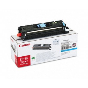 Консуматив Canon EP-87 Cyan Toner Cartridge 3a Лазерен Принтер