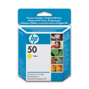 Консуматив HP 50 Yellow Inkjet Print Cartridge за плотер