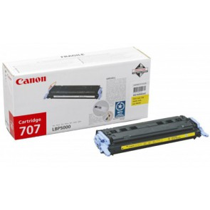 Консуматив CANON 707 Yellow Toner cartridge 3a Лазерен Принтер