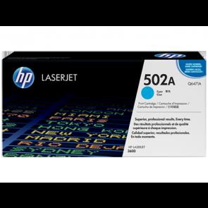Консуматив HP 502A Color LaserJet Cyan Print Cartridge 3a Лазерен Принтер