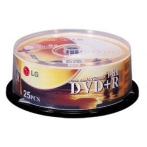 LG DVD+R/8X дискове 25 броя