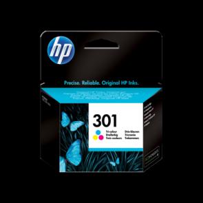 Консуматив HP 301 Tri-color Original Ink Cartridge за мастиленоструен принтер
