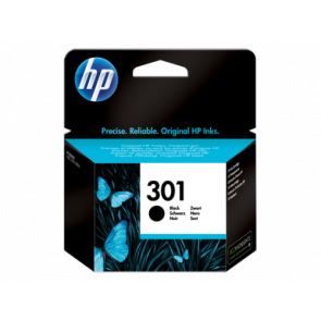 Консуматив HP 301 Black Original Ink Cartridge за мастиленоструен принтер