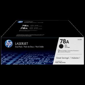 Консуматив HP 78A 2-pack Black Original LaserJet Toner Cartridges за лазерен принтер