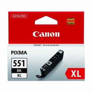 Консуматив Canon Cli-551xl High Capacity Ink Cartridge - Black