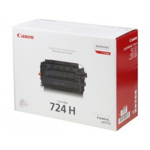 Консуматив CANON High Capacity Black Canon 724H Toner Cartridge