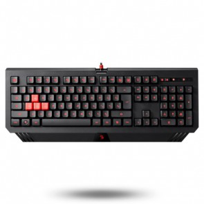 Клавиатура A4 B120 Bloody gaming keyboard, black color, USB