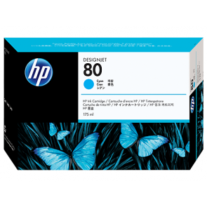 Консуматив HP 80 175-ml Cyan Ink Cartridge EXP