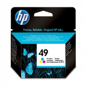 Консуматив HP 49 Tri-color Inkjet Print Cartridge EXP