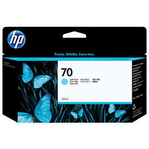 Консуматив HP 70 130-ml Light Cyan Ink Cartridge EXP