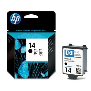Консуматив HP 14 Black Ink Cartridge EXP