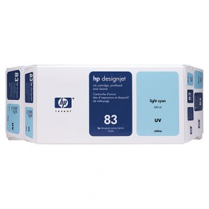 Консуматив HP 83 Value Pack 680-ml Light Cyan UV Ink Cartridge and Printhead EXP