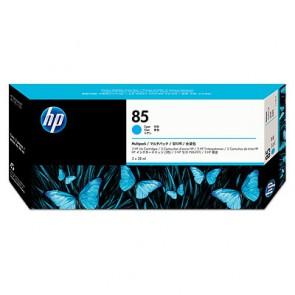 Консуматив HP 85 3-pack 28-ml Cyan Cartridges EXP