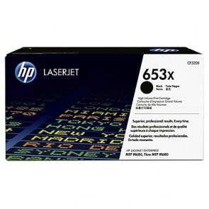 Консуматив HP 653X High Yield Black Original LaserJet Toner Cartridge за лазерен принтер