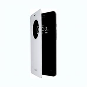 Калъф ASUS ZenFone 5 Side Flip Cover A500KL White